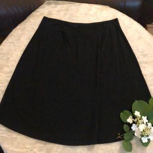 Athleta Black Skirt
